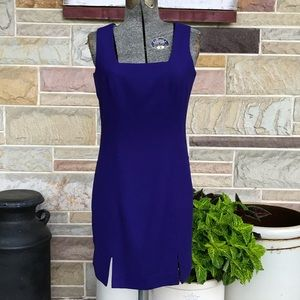 Grantors Wool Sheath Dress